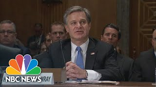 FBI Chief Says Threats From Cybser Security, Drones \'Steadily Increasing\'   NBC News