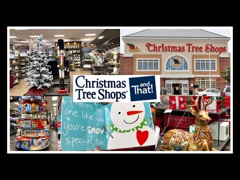 CHRISTMAS TREE SHOP and That! | Christmas Shop with Me