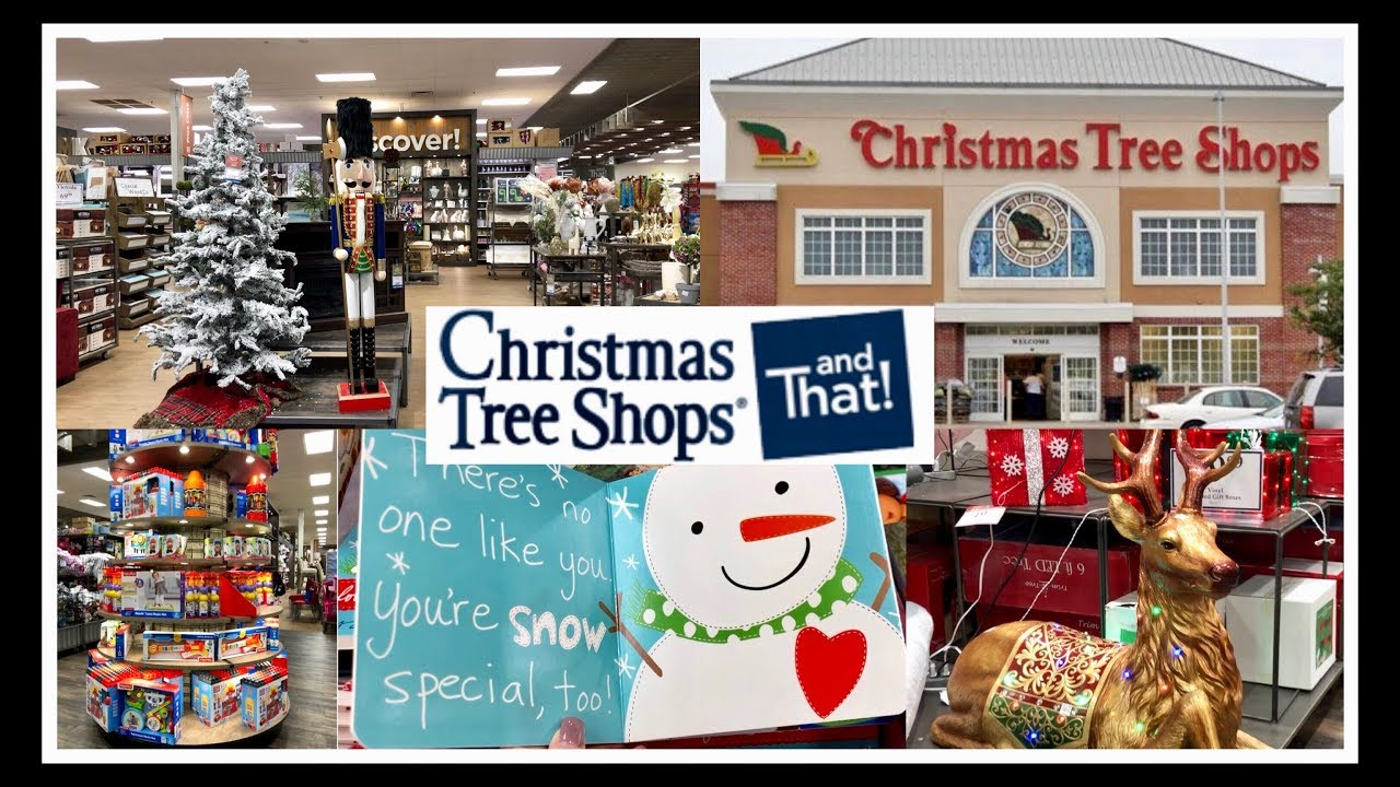 Christmas Tree Shop And That Christmas Shop With Me Youtube