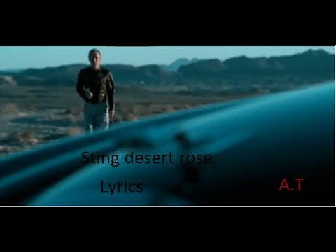 sting desert rose, lyrics