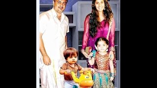 Actress Shamili Family | Actress Shalini Family Photos with Husband Ajith, Daughter, Son