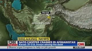 Chopper crash 'big loss' for Navy SEALs