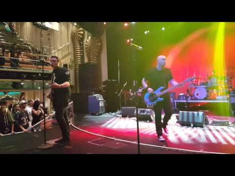 Breaking Benjamin Skin on Axes and Anchors Cruise Feb 20 2016