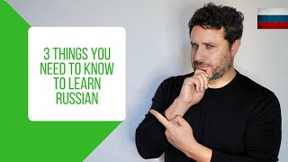 How to Learn Russian: 3 Vital Strategies for Beginners (in Russian / Eng Subs)