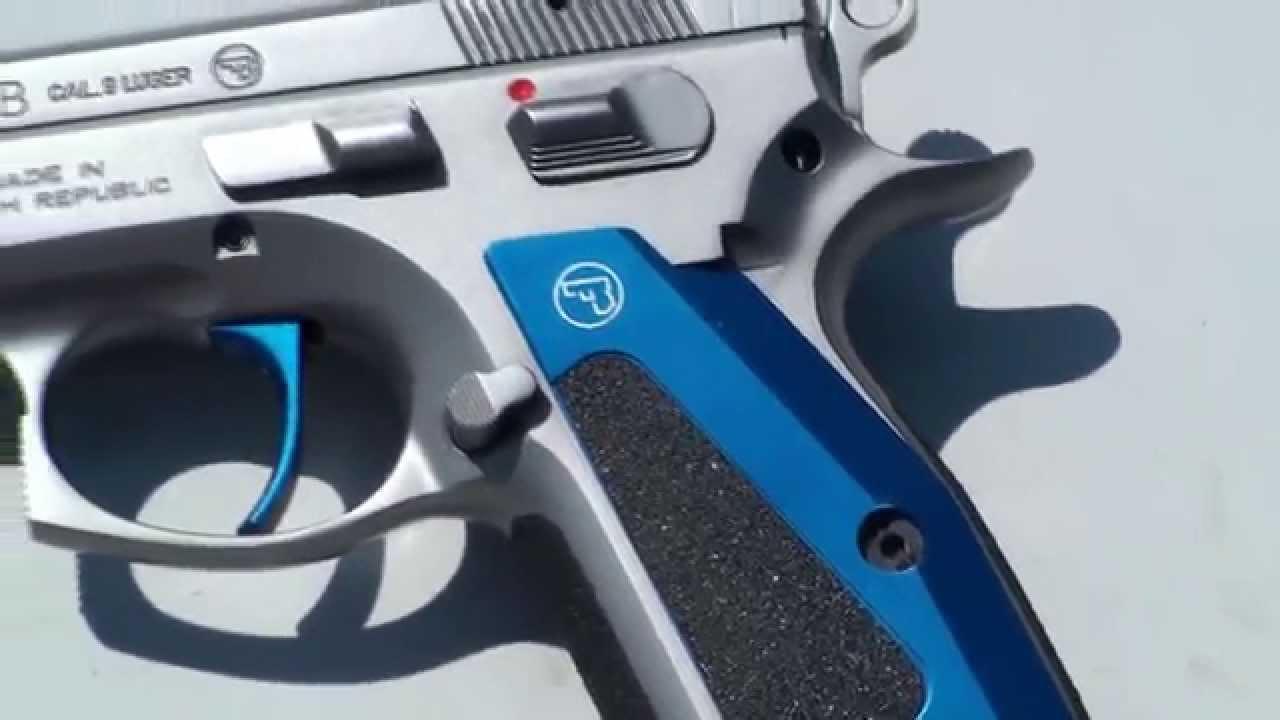 Shooting CZ 75 B 9mm Luger tribute - G's HD Gun Show