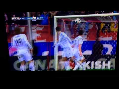 Gabi vs Real Madrid 2/3/14 amazing goal