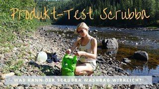 SCRUBBA Washbag Review - einfach waschen auf Reisen