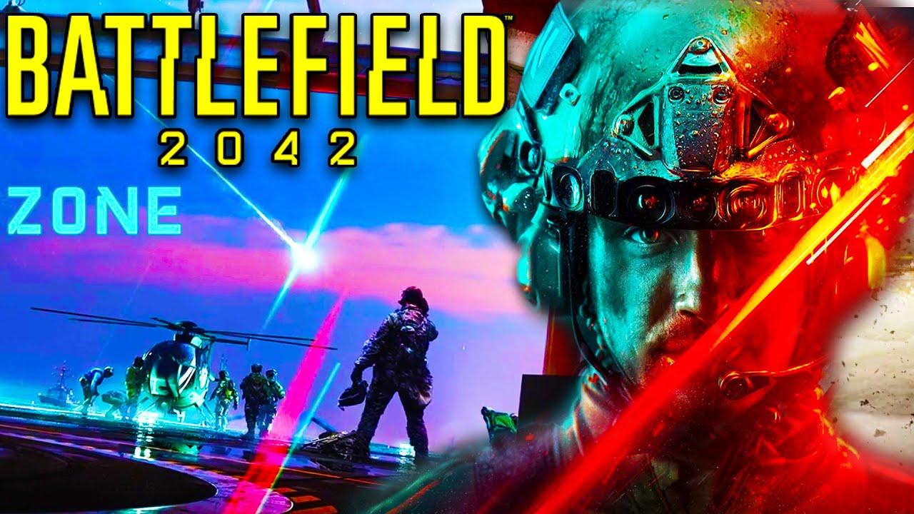 NEW BATTLEFIELD 2042 HAZARD ZONE MODE! - BF42 MULTIPLAYER, REDACTED & DLC)