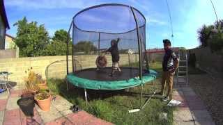 How To Build A 10-foot Trampoline