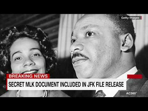 Secret MLK document included in JFK file release