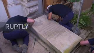 Vatican: Empty tombs offer no clue to missing teenager mystery