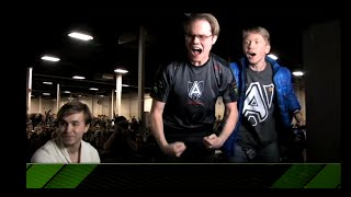 Armada insane 1v2 comeback vs Leffen/Ice - Apex 2015
