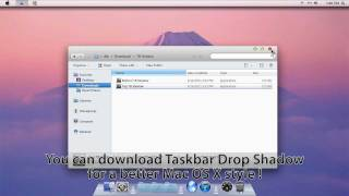 Mac OS X Lion for Windows 7 Transformation Pack