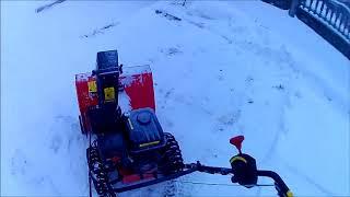 Снегоуборочная машина СМ 6.Три сезона,отзыв.