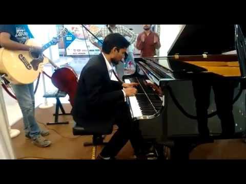 Uska Hi Banana Song On Pianongh Prakash Youtube