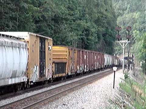 NS freight in West Virginia
