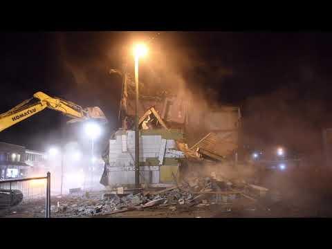 Park Hotel Demolition - Grande Prairie, AB