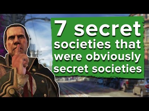 7 secret societies that were obviously secret societies