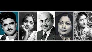Hum Vanjare Sang Hamare Geeta Dutt  Mohammed Rafi Lalita Deulkar Film Saajan (1947)