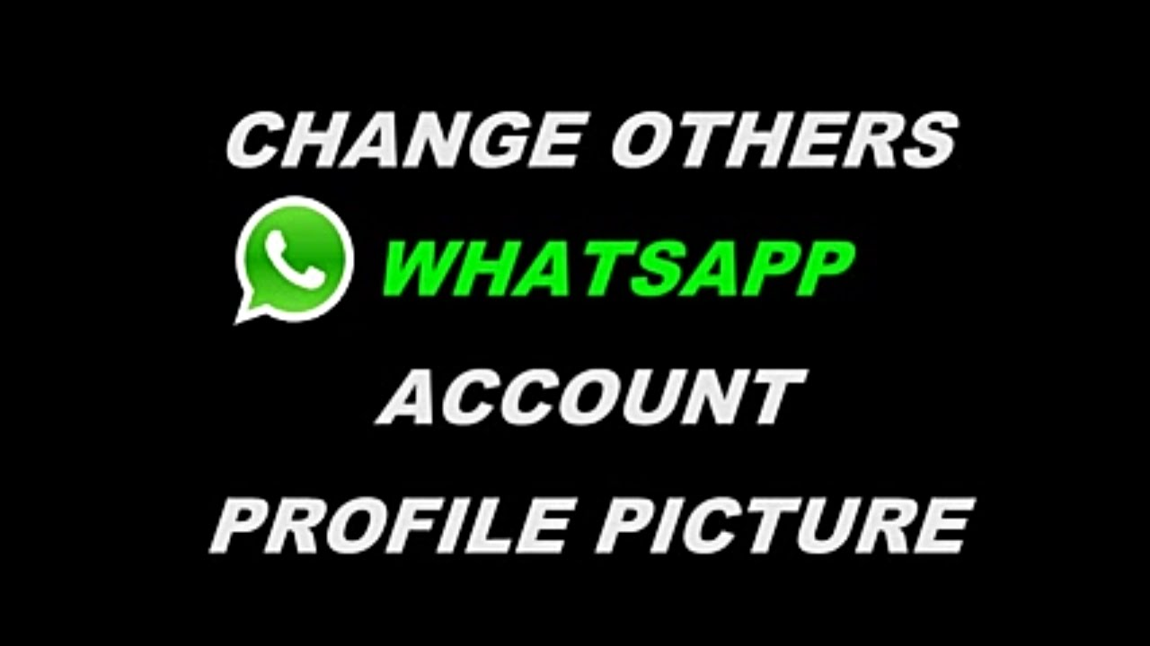 How To Change Others Whatsapp Dp Prank By Weekend Tricks