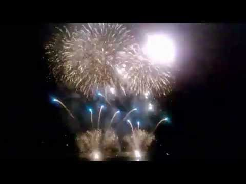 Port Maritime Monaco - Feux d'artifice 2014