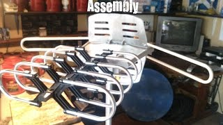 Assembly of Long Distance Motorized Antenna