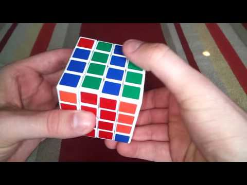 Rubik's cube 4x4 corner parity without complicated algorithms YouTube