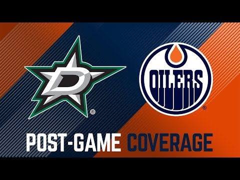 LIVE   Oilers Post-Game Interviews at Dallas