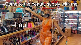 Come to the biggest beauty supply store in ATL with me *+ HAUL*💆🏽♀️💄