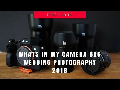 Whats In My Camera Bag 2018