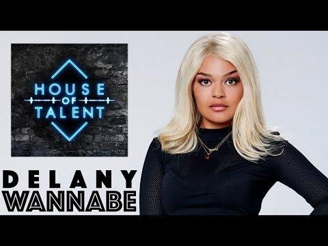 Wannabe - Delany (LYRICS)