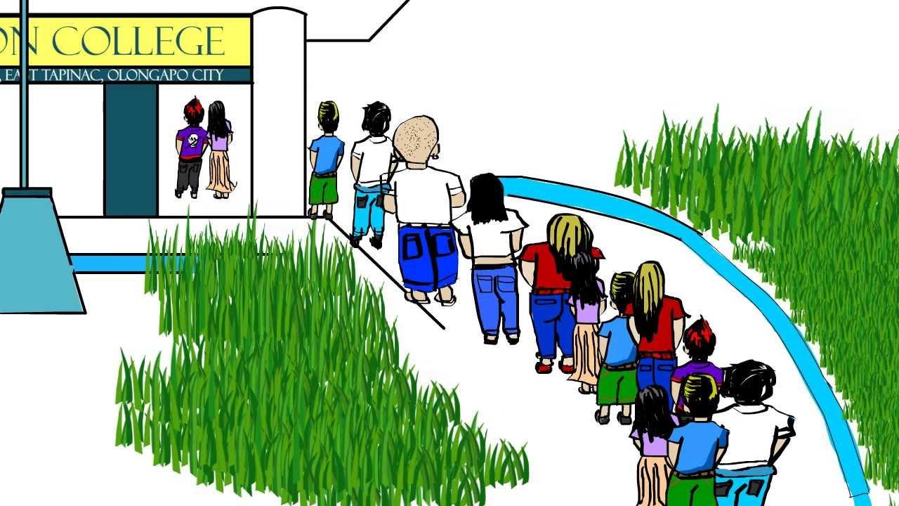 university animation