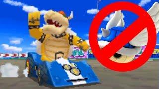 Mario Kart DS Online - Dodging My Own Blue Shell!