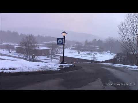 A Nice, Heavy Snow Shower - Putney, VT (12/10/17)