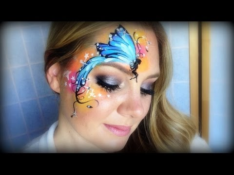5f57b06fdcb2 Pretty Fairy Makeup and Face Painting - YouTube