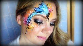 Pretty Fairy Makeup and Face Painting