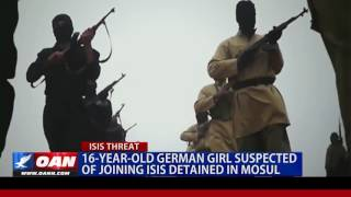 16-Year-Old German Girl Suspected of Joining ISIS Detained