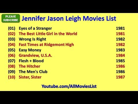 Jennifer Jason Leigh Movies List