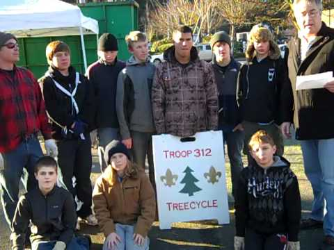 115 of 365 Things To Do In Edmonds, WA - Christmas Tree Recycle