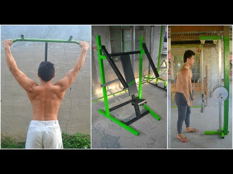 Best Gym Ideas - Homemade Gym Equipment