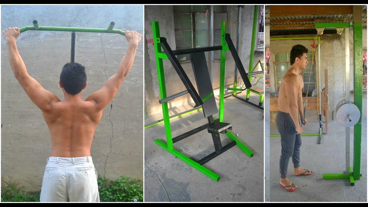 Best Gym Ideas - Homemade Gym Equipment - YouTube