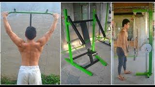 Best Gym Ideas - Homemade Gym Equipment