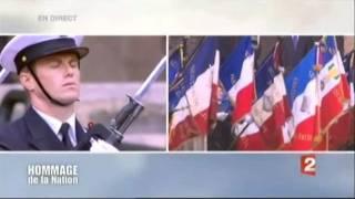 Sonnerie aux morts aux Invalides, 19 juillet 2011