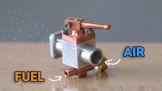 Making a 4 Stroke Engine. Episode 5 - Carburetor, Flywheel