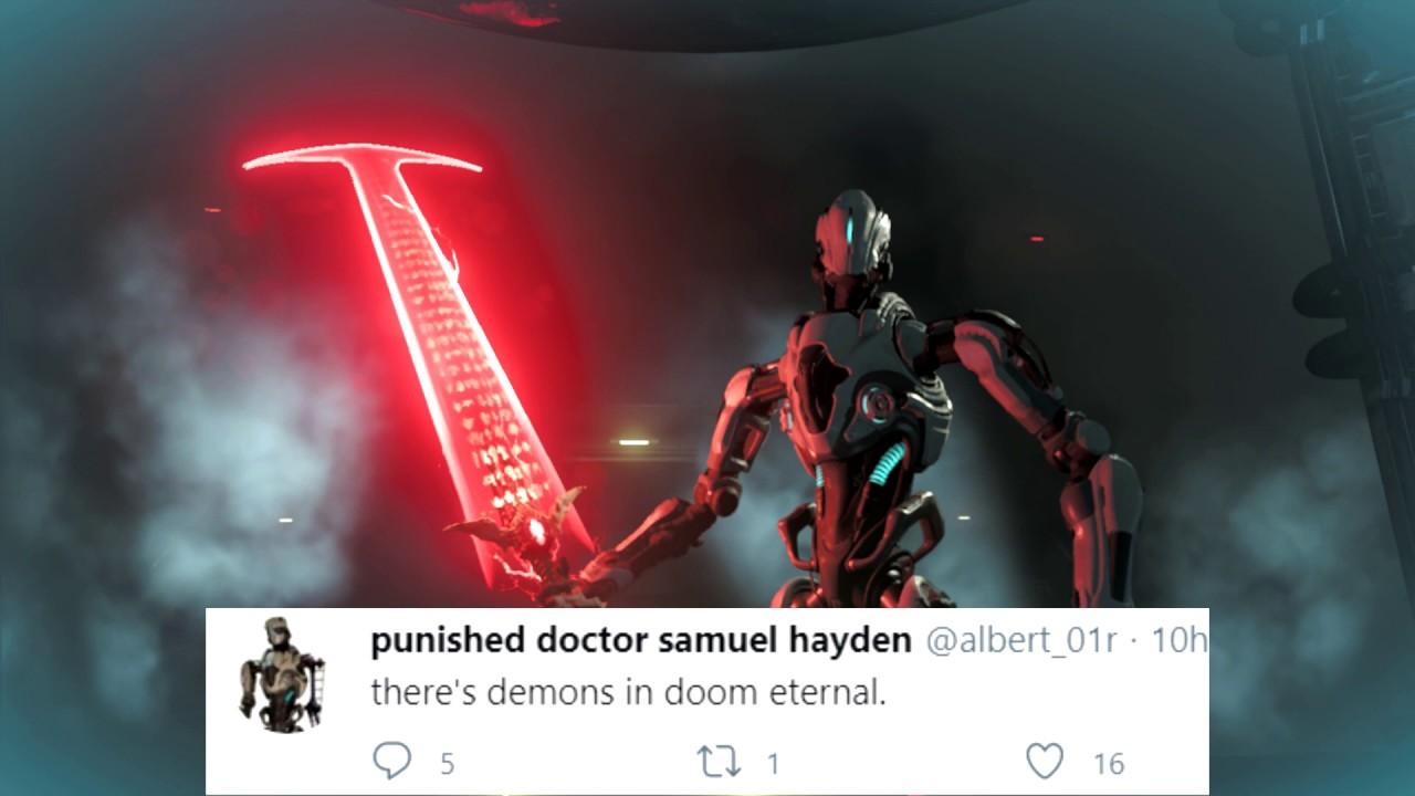 Samuel Hayden Twitter Youtube