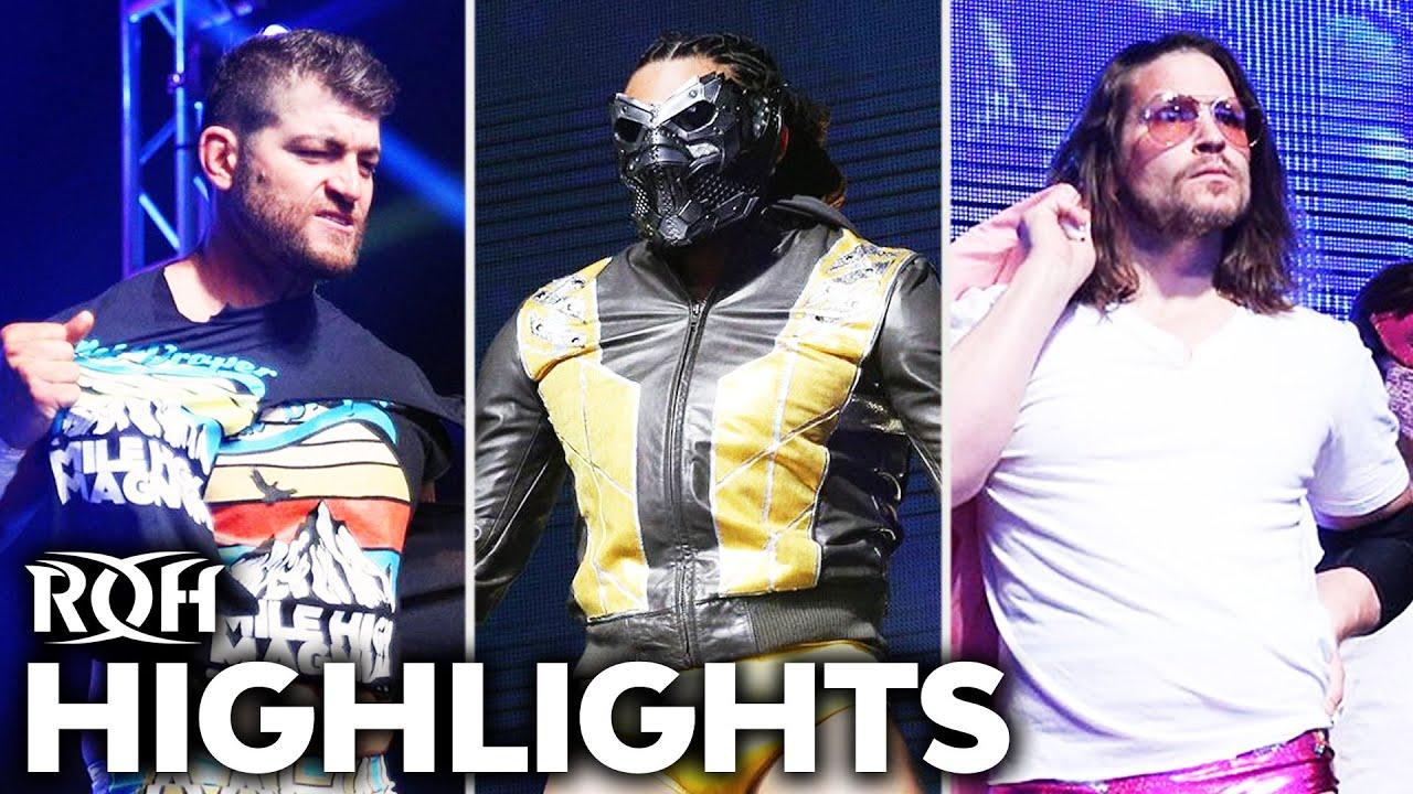 Bizarre Conclusion to Triple Threat Mayhem! ROH Highlights