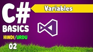 C# Tutorials For Beginners in Hindi Urdu (Variables 01)