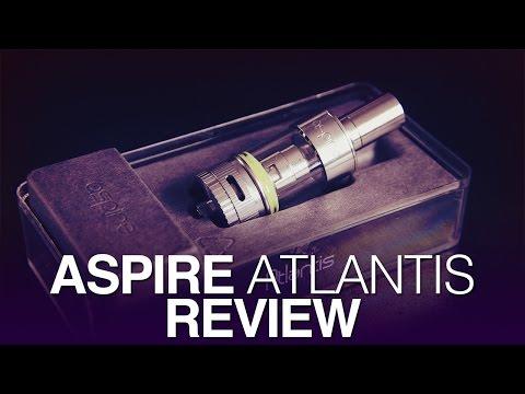 Daily Vape TV- Aspire Atlantis Review