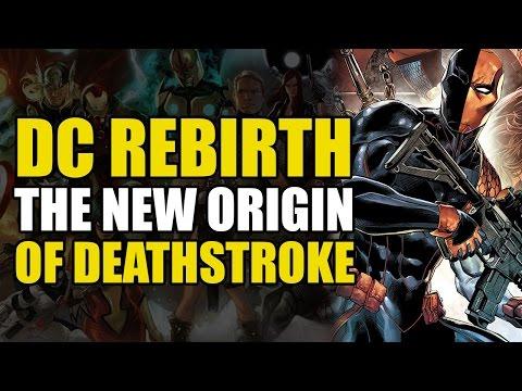 Deathstroke vs Batman, Superman & Damian Wayne (Deathstroke Rebirth Vol 1: The Professional)