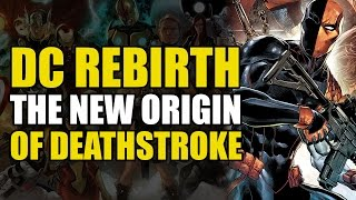 Deathstroke Rebirth Vol 1: Deathstroke vs Batman, Superman & Damian Wayne